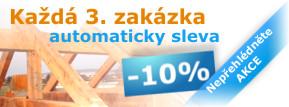 Akce 10% sleva střecha Olomouc