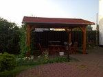 Stavba zahradního altánu v Hněvotíně