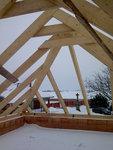 Montáž střechy