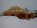 Střecha Rataje z boku