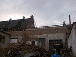Demontáž střechy
