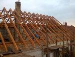 Stavba nové střechy