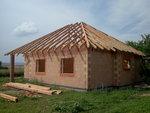 Střecha bungalovu Rataje