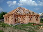 Střecha bungalovu Rataje, pohled