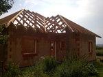 třecha bungalovu Rataje, pohled zezadu