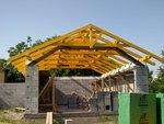 Konstrukce střechy - Slatinice