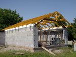 Konstrukce střechy - Slatinice - boční pohled