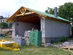 Konstrukce střechy - Slatinice 3