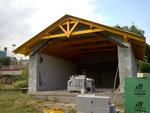 Montáž střechy Slatinice