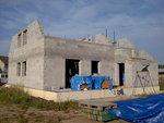 Přípravy montáže střechy Věrovany 2
