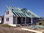 Montáž konstrukce střechy