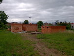 Střecha Želátovice - začátek prací 3