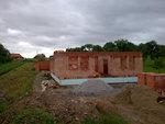 Střecha Želátovice - začátek prací